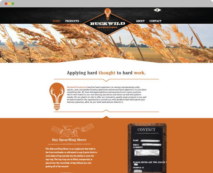 Buckwild Innovations — http://buckwildinnovations.com Designed by the talented people at Titan Web Marketing Solutions #innovation #wilddesign #hayfeeders