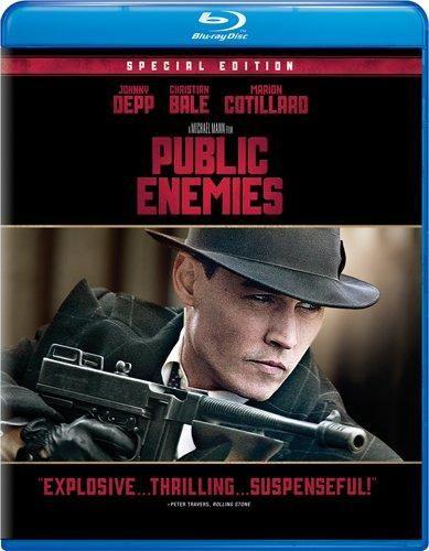 Johnny Depp & Christian Bale & Michael Mann-Public Enemies