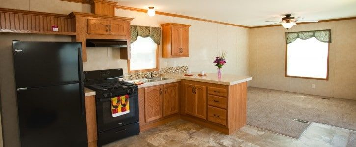 Purchase A New 1 Bedroom 1 Bath Manufactured Home At Chief Mobile Home Park In Justice Il This Home Features New Mobile Homes For Sale Home Mobile Home Parks