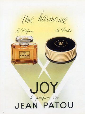 Jean Patou (Perfumes & Powder) 1950