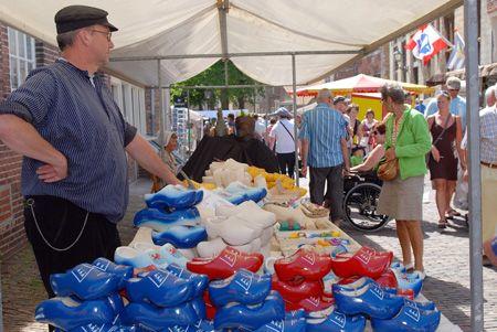 Historische markt Veere 2010
