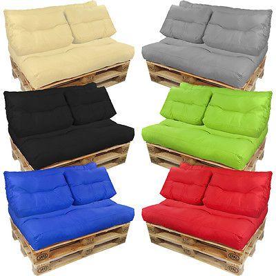 palettenkissen palettenpolster euro paletten sofa auflage sitzpolster sitzkissen ayk world. Black Bedroom Furniture Sets. Home Design Ideas