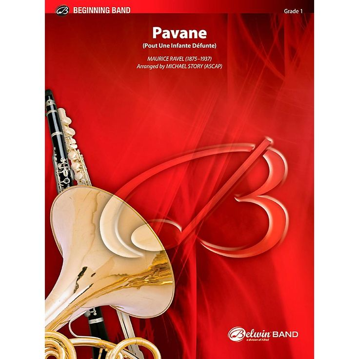 BELWIN Pavane Concert Band Grade 1 (Very Easy)