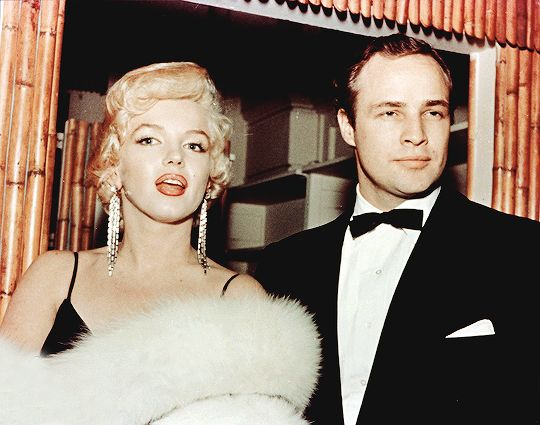 Marilyn Monroe and Marlon Brando