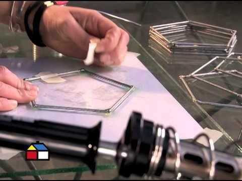¿Cómo hacer una lámpara geométrica? - YouTube