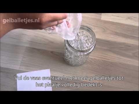 Instructie video voor het cadeaupakket van gelballetjes.nl. Het cadeaupakket bestaat uit 3 zakjes transparante gelballetjes, 2 zakjes gelballetjes in de kleu...