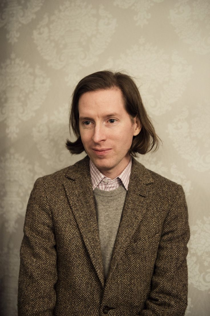 Wes Anderson, director and author of the wonderful 'Moonrise kingdom' and many other magnificent movies.