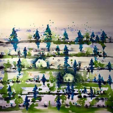 """Saatchi Art Artist Randi Antonsen; Painting, """"two"""" #art"""