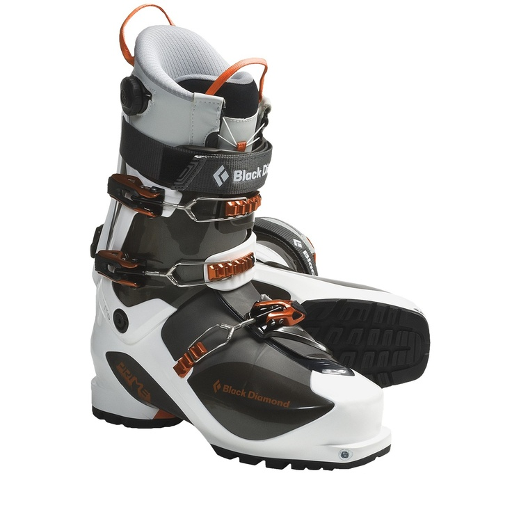 Black Diamond Equipment Prime AT Ski Boots - Dynafit Compatible (For Men and Women) - Save 25% Size 30