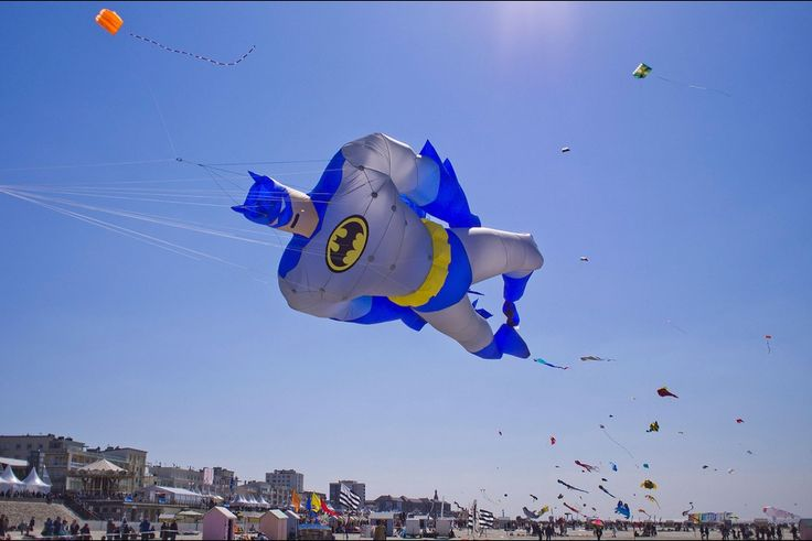 29ème rencontres internationales. Berck-sur-mer, capitale du cerf-volant