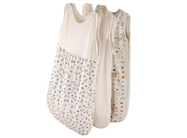 Prolana Schlafsack Baby Kinder Plüsch in 3 Designs