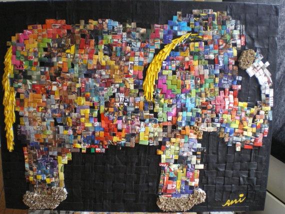 Elephant by AzzaGallery on Etsy, €1400.00