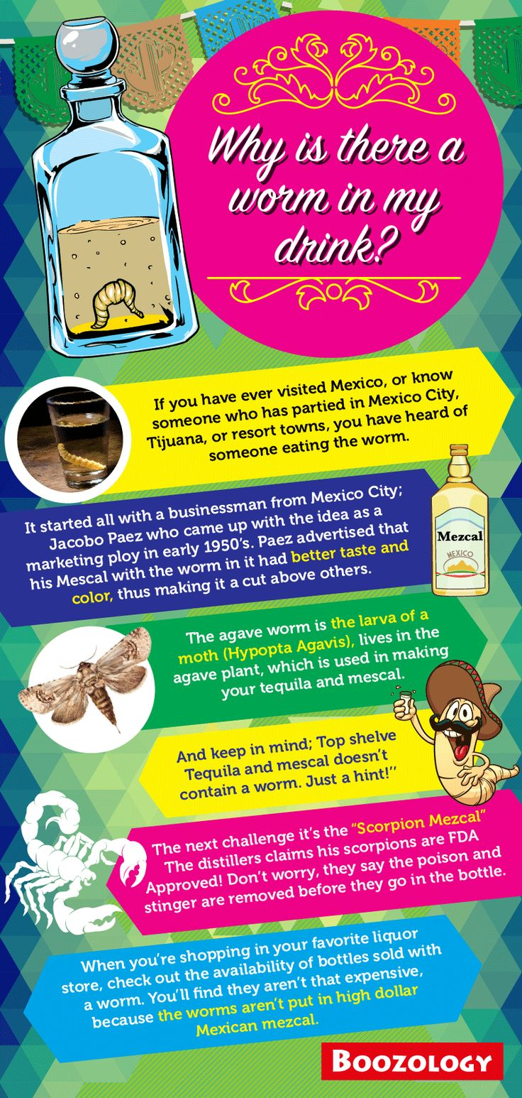 Why is there a worm in my drink? #Tequila http://www.boozology.com/blog/why-is-there-a-worm-in-tequila