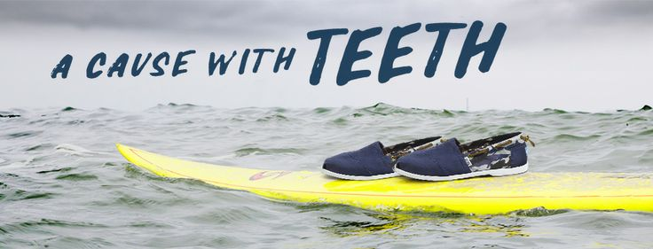 5 dollars from each pair goes to support Oceana, the largest ocean conservation organization in the world, and a child in need will receive a new pair of shoes.