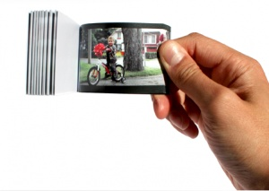 Flipstory. Turn your YouTube video into a physical flip book.