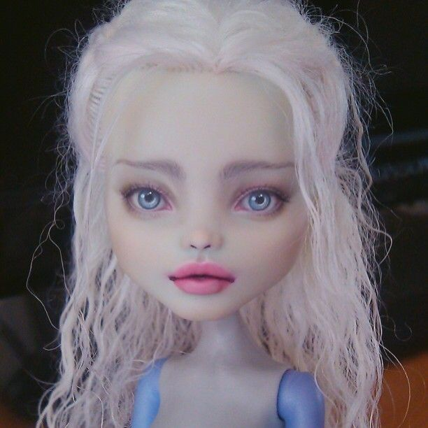 Daenerys Targaryen #ooakdoll #doll #monsterhighooak