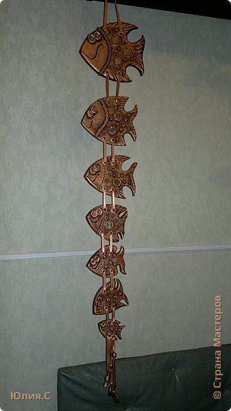 Поделка изделие Лепка Золотые рыбки - солёнушки Часть 1 Тесто соленое фото 1
