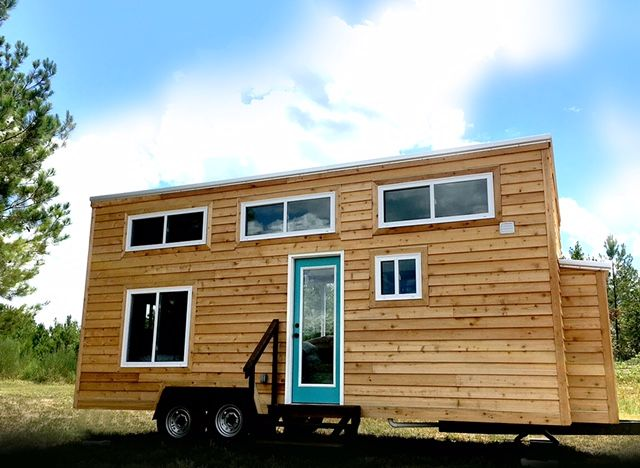 A Two Bedroom Tiny House In Oxford Alabama Built By Harmony Homes