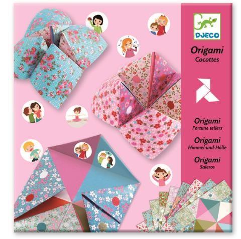 DJECO Origami - Nebo, peklo, ráj, dívčí
