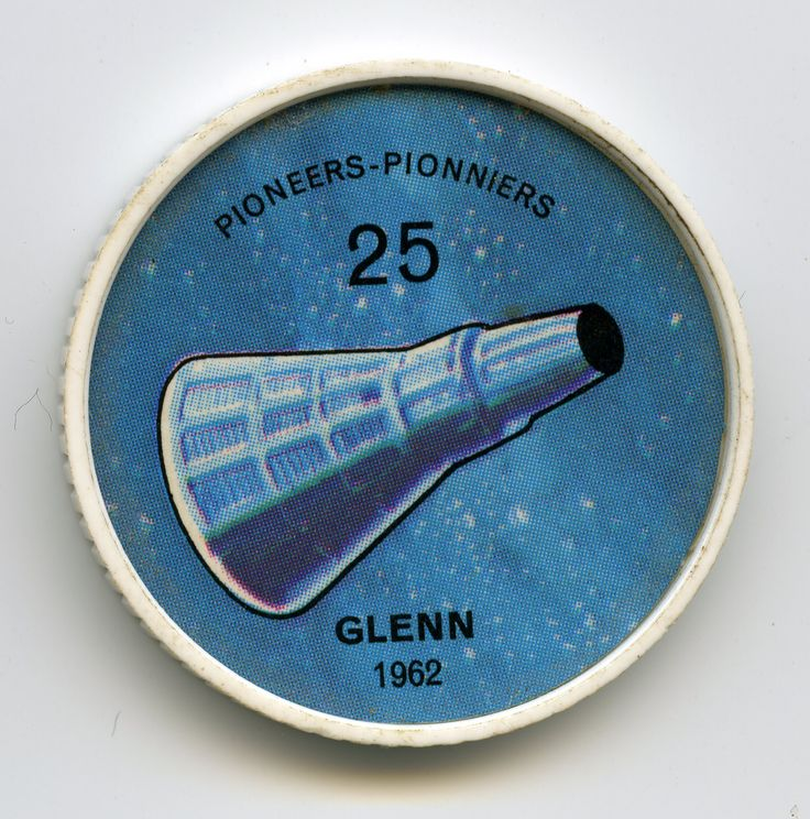Jell O Coin 25 Glenn 1962 First American To Achieve Orbital Space Flight Was Lt Col John