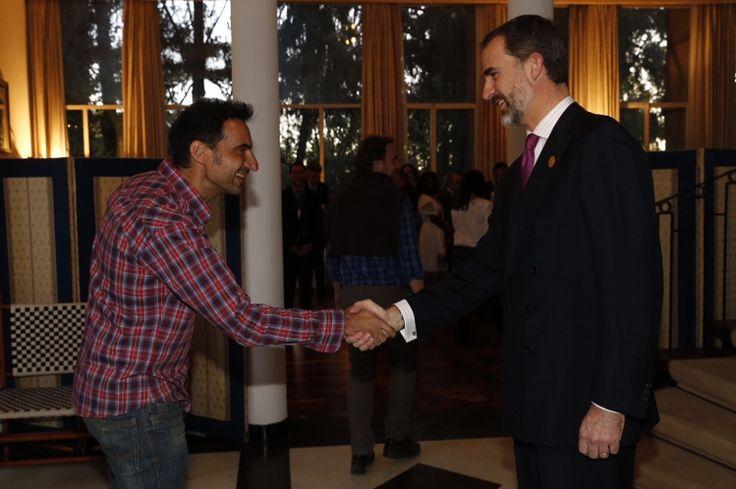 Foro Hispanico de Opiniones sobre la Realeza: Encuentro con miembros de la colectividad española durante su visita a Adis Abeba, Etiopía para participar en la 24ª Cumbre de la Unión Africana. 30/1/2015
