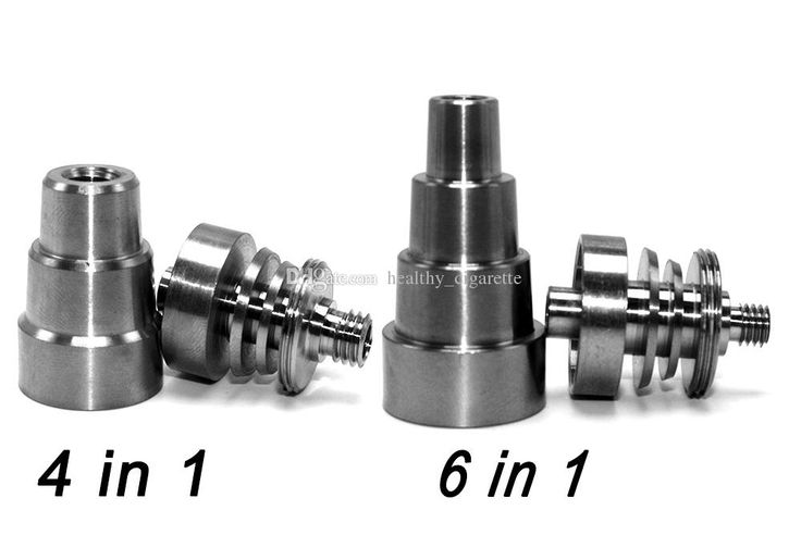 Hot Sale Universal 6 In 1 Titanium Nail 4 In 1 10mm/14mm/19mm Domeless Nail Titanium Fit Dab Rig Glass Bongs Glass Bong Glass Water Pipe Oil Rigs Online with 7.98/Piece on Healthy_cigarette's Store | DHgate.com