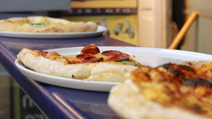 Pizza at Prima Sapori d'Italia Restaurant