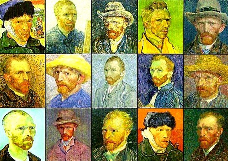 histoire-d-arts: Histoire de l'autoportrait et le thème de l'accumulation dans les oeuvres étudiées