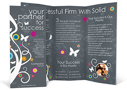 24 best 3 fold brochure images on Pinterest Brochures, Triptych - gym brochure templates