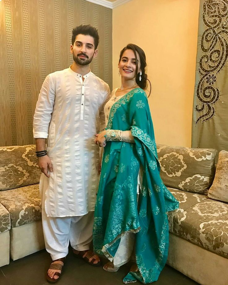Muneeb Butt and Aiman Khan on Eid Ul Fiter!❤ Wearing by #MariaBOfficial  #Gorgeous #TraditionalStyle #MubeebButt #AimanKhan #Aineeb #EidWearing #EidUlFiter2017 #PakistaniFashion #PakistaniActresses #PakistaniCelebrities  ✨