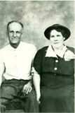 MATERNAL GREAT GRANDPARENTS Burrell and Ida Mae Linville Hancock.