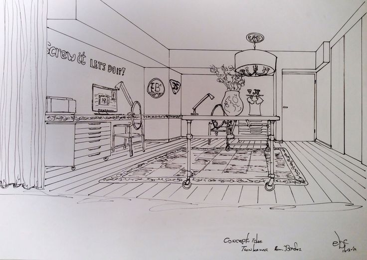 Office sketch   16-February-2014