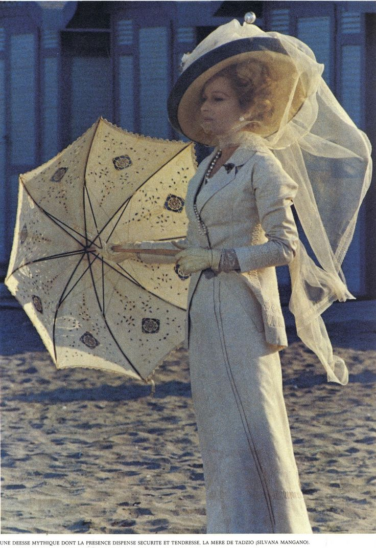 From the movie, Morte a Venezia,  Period is 1911, dress design by Piero Tosi (1970)  Simply stunning.
