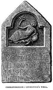 Coventina, celtic goddess of wells and springs