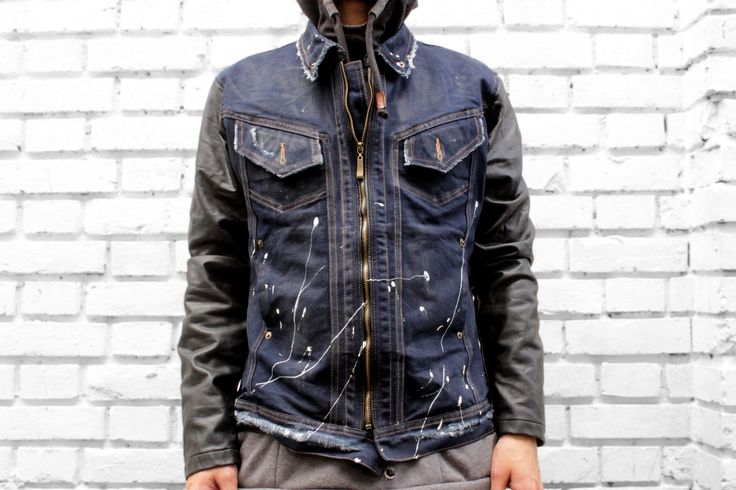 Is the leather-denim Jacket your best friend by Dosharapos