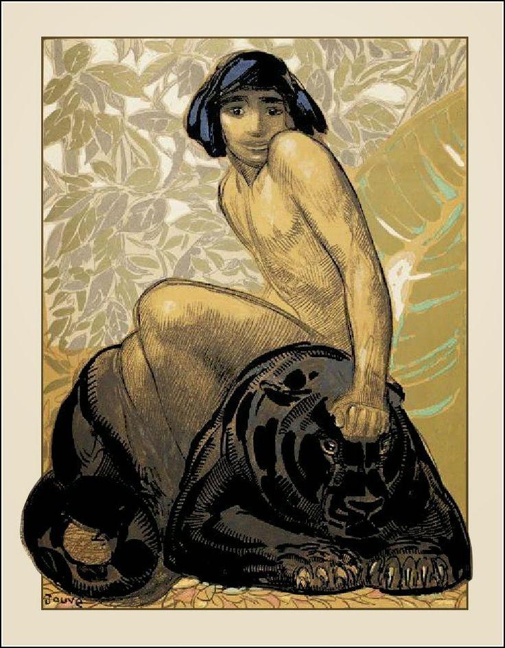 Deja View: Paul Jouve's Big Cats