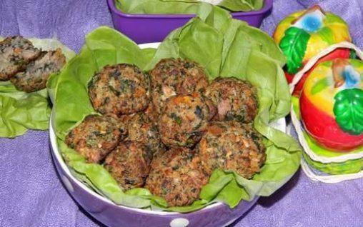 Chiftele cu ciuperci si soia (de post)