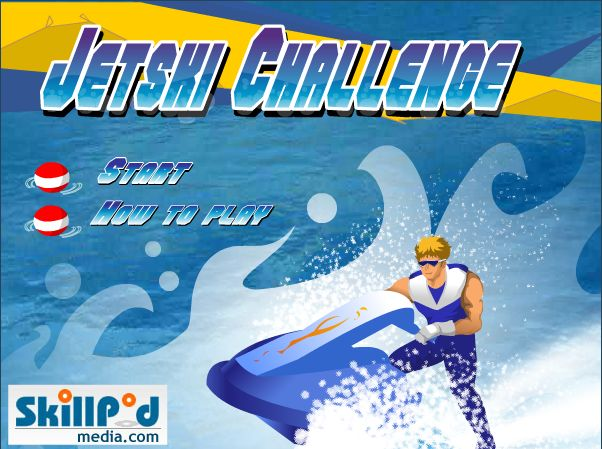 Explore the clear blue waters at top speed in this challenging adventure!