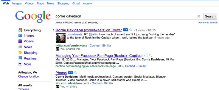 Author Why does my Twitter come up in Google search results - google is my resume