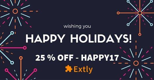 Wishing you, HAPPY HOLIDAYS! #joomla #HappyHolidays