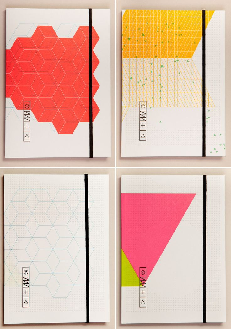 Graphic notebooks & stationery