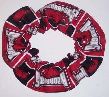 University of Arkansas Hogs Razorbacks by Scrunchiesbysherry, $3.75