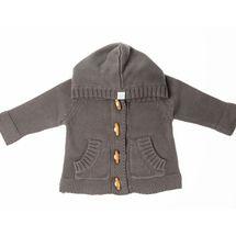 Knit Hoodie Grey