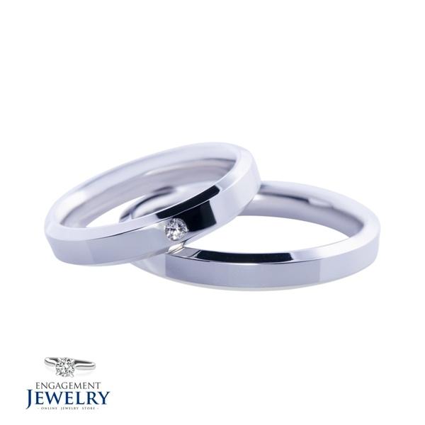 Set verighete cu Diamant UNR-VEG-014