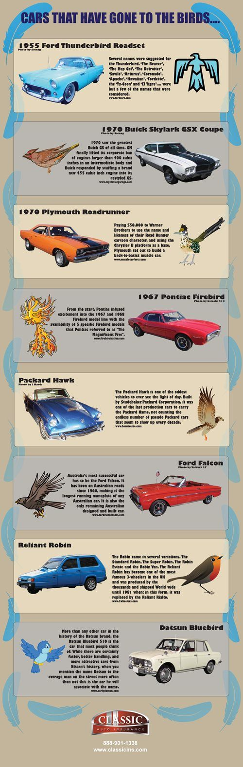 Best Infographics Classic Vintage Collector Car