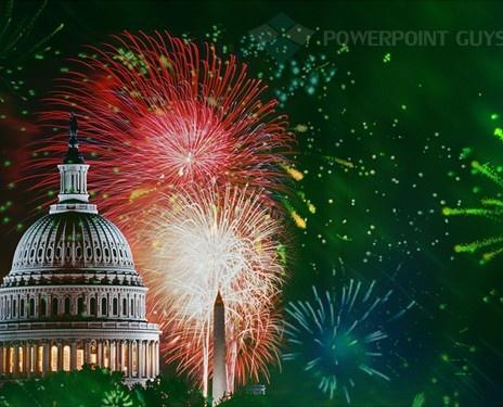21 best americana powerpoint templates images on pinterest fireworks powerpoint template toneelgroepblik Choice Image