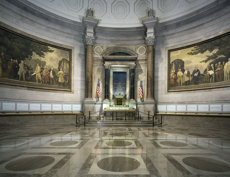 National Archives - Washington DC: one of the more underrated places in our nation's capitol.  (Been there.)