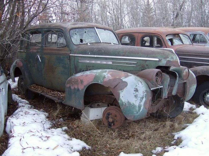 702 Best Rusty Old Cars Images On Pinterest