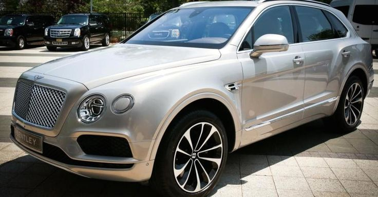 The Bentley Bentayga is the fastest and most luxurious, and it's already sold out for the first year, Bentley USA's CEO says.
