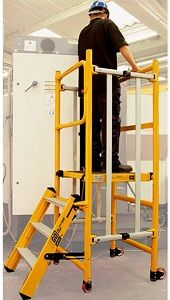 Work safe in your workplace in the city of #Sheffield - hire a set of podium steps from this #tool #hire shop - http://www.sheffieldtoolhire.co.uk/podium-steps-hire-combination-ladders.html